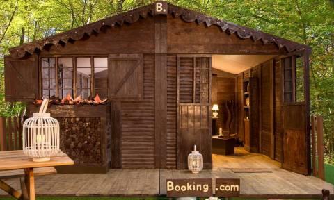 Τώρα μπορείς να μείνεις και εσύ σε ένα σπίτι από… σοκολάτα!
