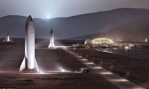 Space X: Το όραμα του Έλον Μασκ για μια μελλοντική βάση στον Άρη