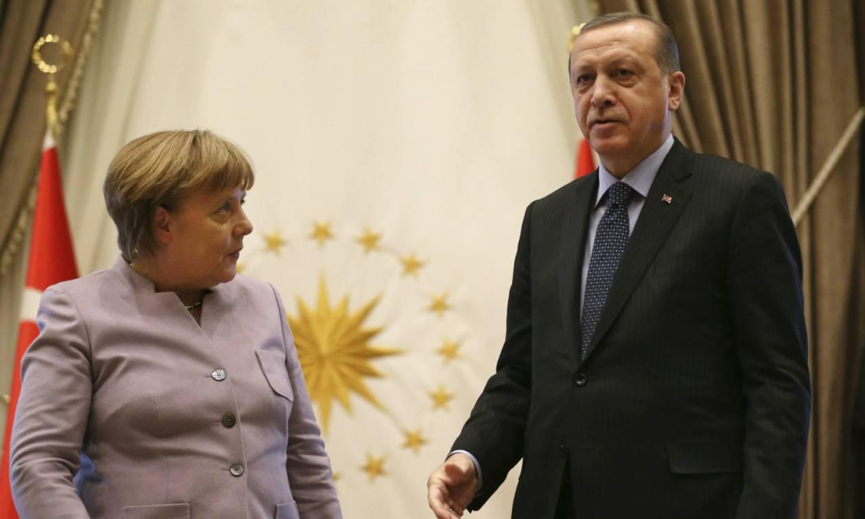 Να βγει η υποχρέωση! Ψυχρή αναμένεται η υποδοχή του Ερντογάν στη Γερμανία