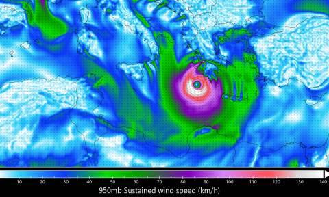 Μεσογειακός κυκλώνας: Θέλει μεγάλη προσοχή αν χτυπήσει την Ελλάδα (photos)