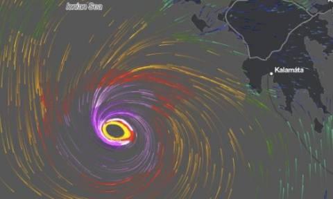 Καιρός - Μεσογειακός κυκλώνας απειλεί την Ελλάδα: Συναγερμός για το σπάνιο φαινόμενο (pics)