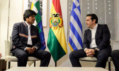 Στην αναγκαιότητα συντονισμού των αριστερών δυνάμεων συμφώνησαν Τσίπρας - Μοράλες