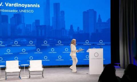 Στο Concordia Summit η Μαριάννα Βαρδινογιάννη – Οι διεθνείς επαφές στο περιθώριο της ΓΣ του ΟΗΕ