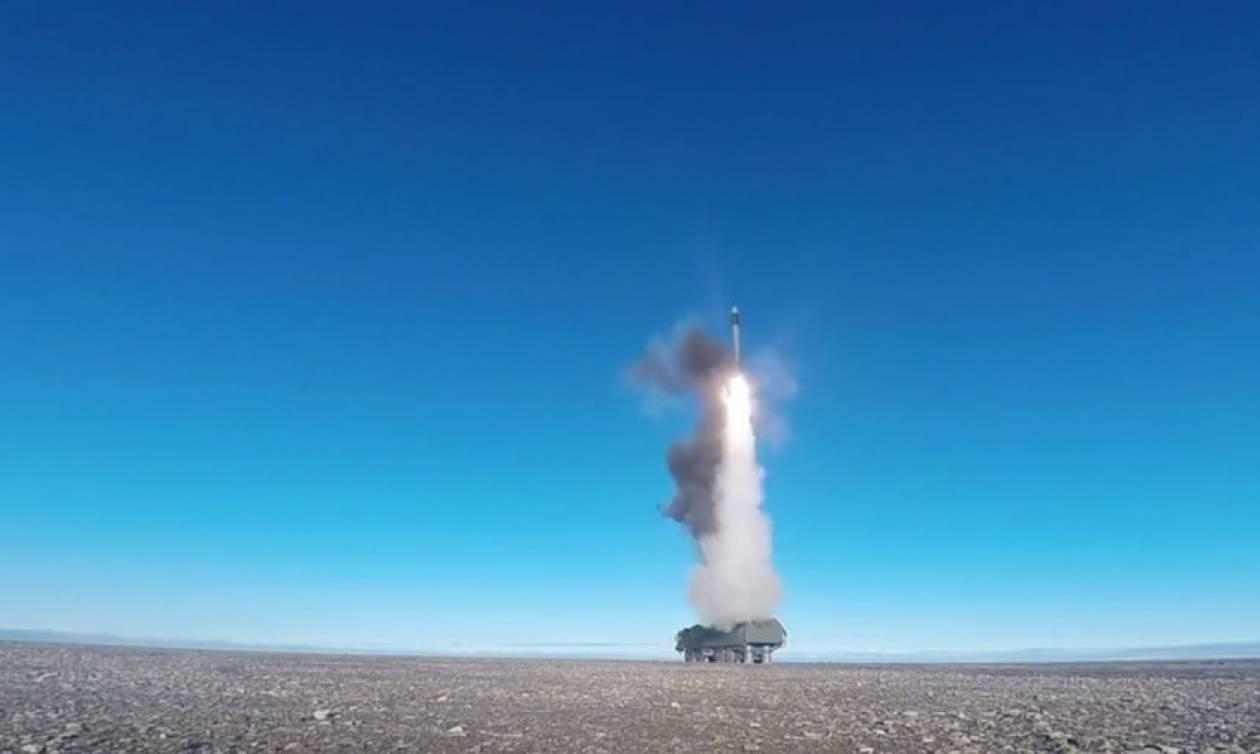 Eκτόξευση ρωσικού υπερηχητικού πυραύλου στην Αρκτική (vid)