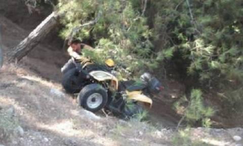 Νέο σοβαρό τροχαίο με γουρούνες στην Κρήτη - Έπεσε στο κενό από γέφυρα 5 μέτρων