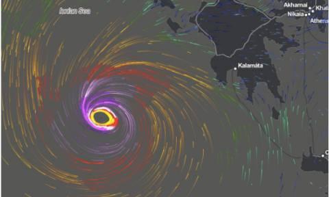 Μεσογειακός κυκλώνας Ζορμπάς: Τι είναι και ποιες περιοχές θα χτυπήσει (Vid)