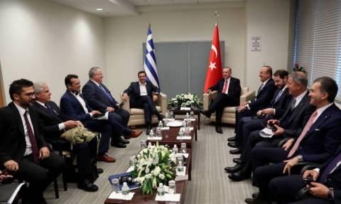 В Нью-Йорке состоялись переговоры Алексиса Ципраса и Реджепа Тайипа Эрдогана