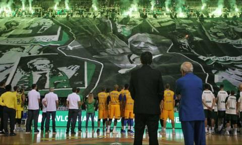 Ρίγη συγκίνησης και ανατριχίλα στο ΟΑΚΑ για το μεγάλο Παύλο Γιαννακόπουλο