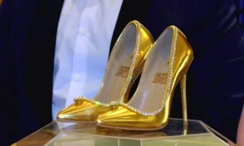 Πόσο κοστίζουν τα ακριβότερα παπούτσια στον κόσμο (vid)
