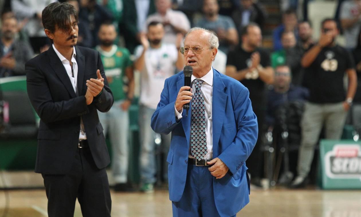 Θανάσης Γιαννακόπουλος: «Ένα μεγάλο μπράβο και ευχαριστώ σε όλους» (vids)