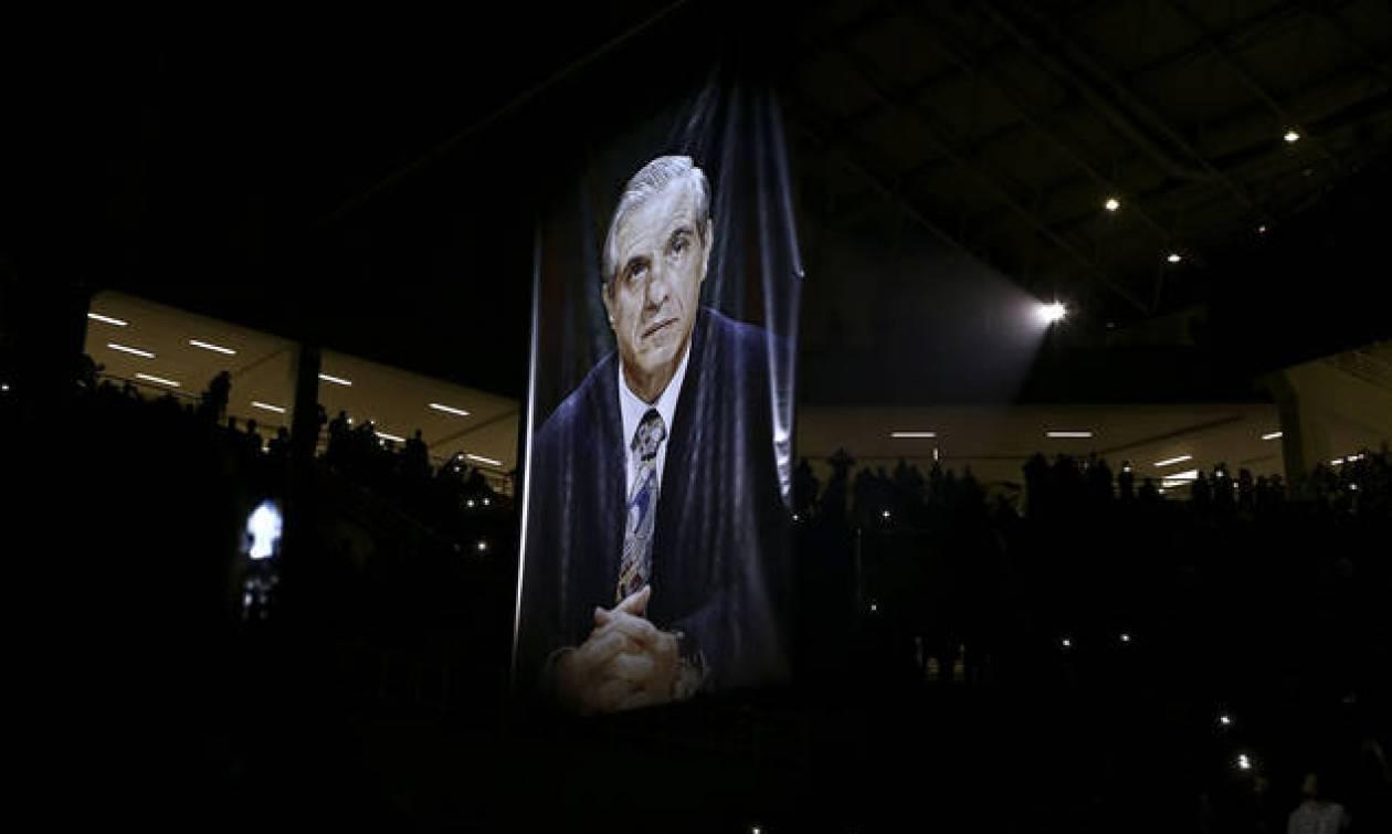 Τουρνουά «Παύλος Γιαννακόπουλος»: Η στιγμή που ράγισαν και οι πέτρες στο ΟΑΚΑ (video)