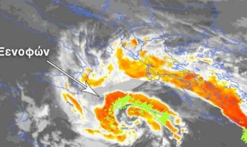 Κακοκαιρία: Έτσι θα «χτυπήσει» ο Μεσογειακός κυκλώνας - Δείτε τι θα συμβεί στη χώρα μας (ΧΑΡΤΕΣ)