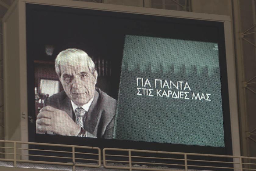 «Για τον Παύλο»: Πρώτη θέση για τον Παναθηναϊκό ΟΠΑΠ - Αποθέωση και συγκίνηση στο ΟΑΚΑ (pics&vids)