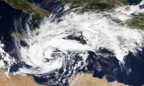 Άρχισε η επέλαση του κυκλώνα Ζορμπά: Δείτε το χάρτη με τις περιοχές υψηλού κινδύνου (Photo)