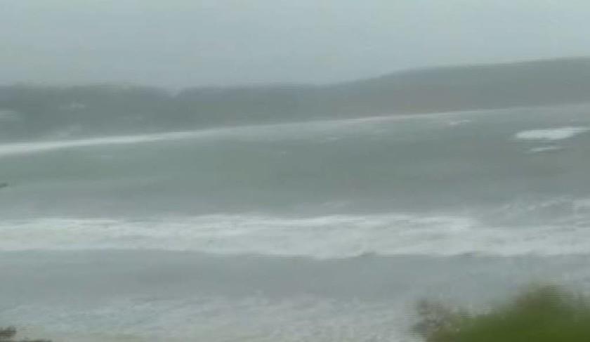 Ο Μεσογειακός κυκλώνας «σαρώνει» τη Μεθώνη