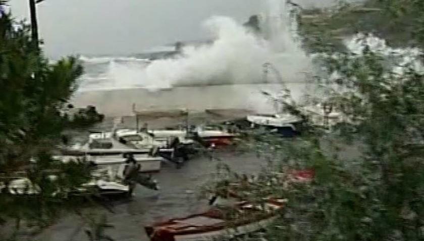 Ο Μεσογειακός κυκλώνας «χτυπά» τη Στούπα