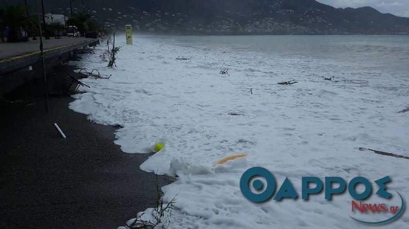 Ο Μεσογειακός κυκλώνας στην Πελοπόννησο