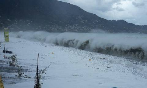 Κυκλώνας Ζορμπάς: Εικόνες Αποκάλυψης στη νότια Πελοπόννησο (pics&vid)