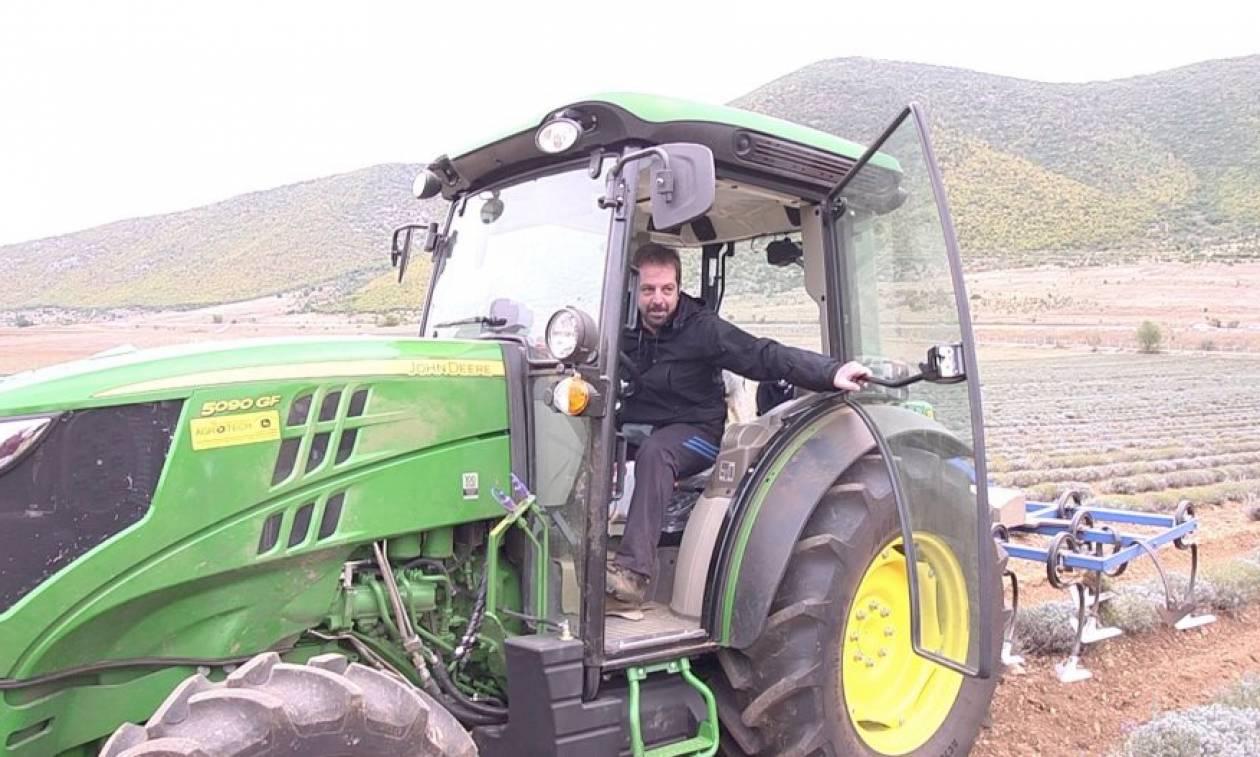 Ο καλύτερος νέος Ελληνας αγρότης για το 2018 μοιράζεται τα «μυστικά» της επιτυχίας του