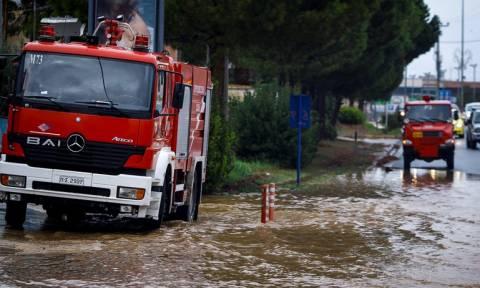 Κυκλώνας «Ζορμπάς» - Προβλήματα ΤΩΡΑ στην Αττική - Ποιοι δρόμοι είναι κλειστοί