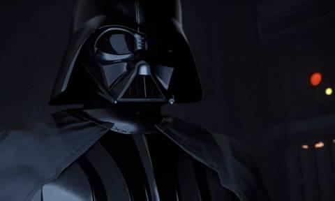 Πώς θα αντιδρούσες αν έβλεπες ολοζώντανο μπροστά σου τον Darth Vader;