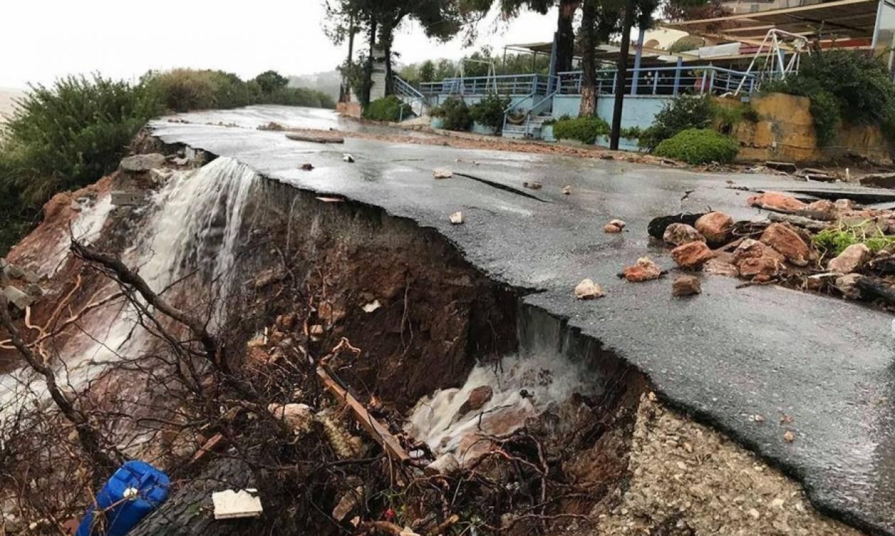 «Ζορμπάς» - Αγνοούμενοι, εγκλωβισμένοι και εικόνες απόλυτης καταστροφής σε Εύβοια και Φθιώτιδα