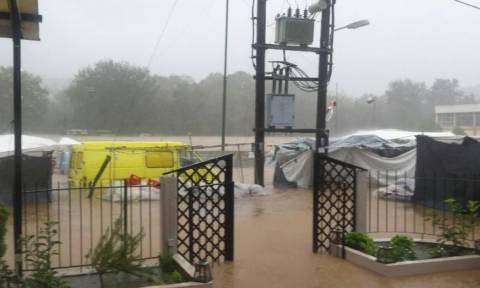 Έτσι χτυπά ο «Ζορμπάς» στην Εύβοια: Εικόνες Αποκάλυψης από τη βιβλική καταστροφή στο Μαντούδι