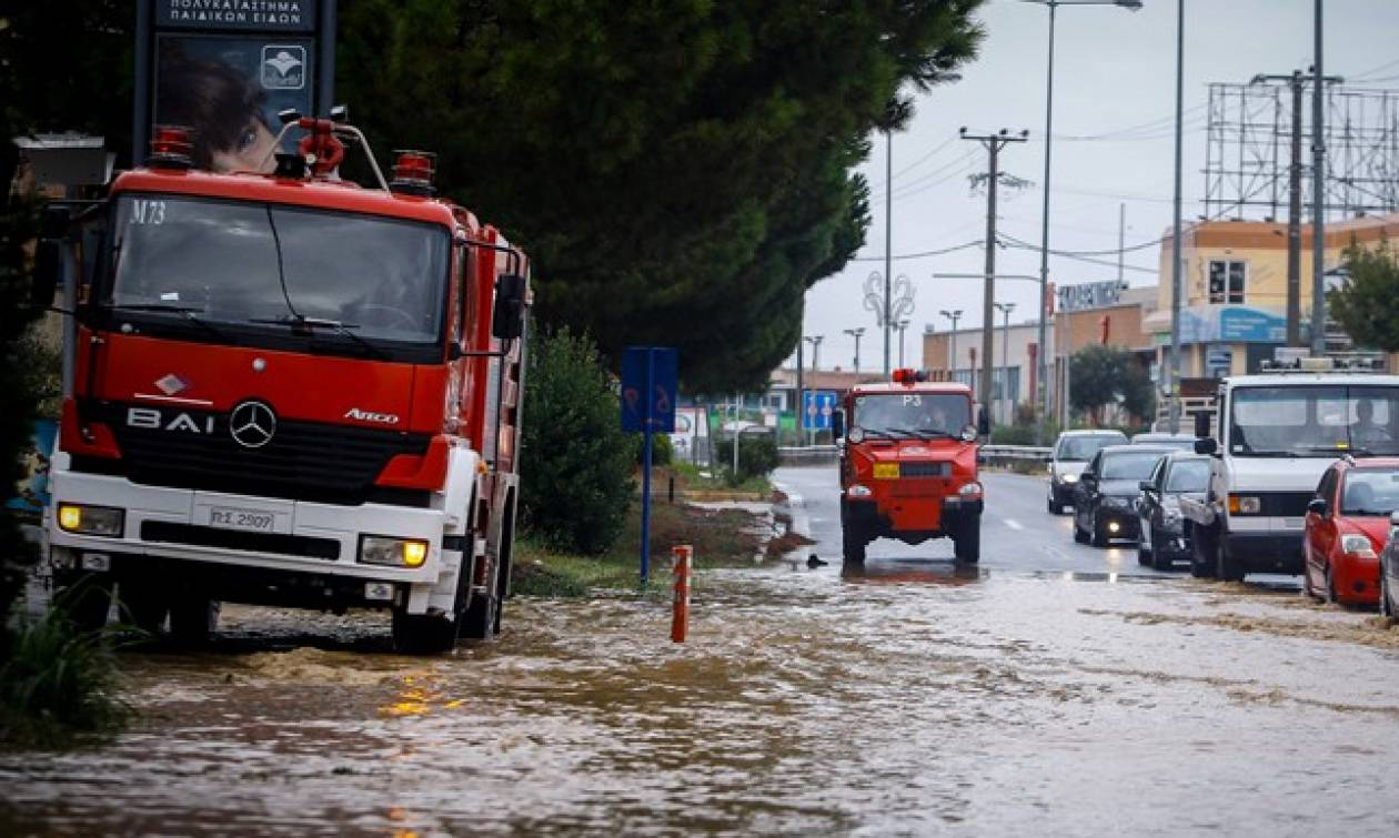 Κυκλώνας Ζορμπάς: Ποιοι δρόμοι είναι κλειστοί λόγω της κακοκαιρίας