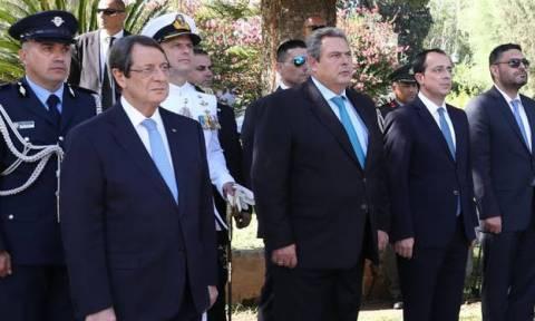 Επέτειος Κύπρου - Αναστασιάδης: Έκκληση σε Τουρκοκύπριους για αλληλοσεβασμό