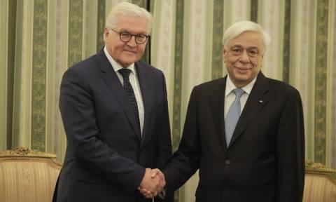 Επίσημη επίσκεψη του Στάινμαϊερ στην Ελλάδα μετά από πρόσκληση του Παυλόπουλου
