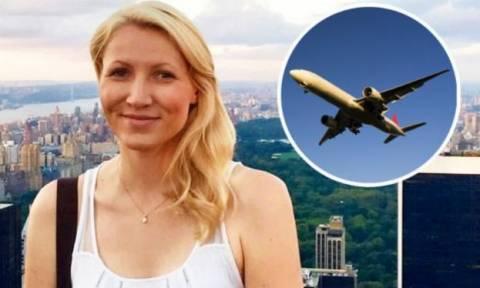 Σκάνδαλο: Έκανε σεξ με 16χρονο μαθητή της στις τουαλέτες αεροπλάνου!
