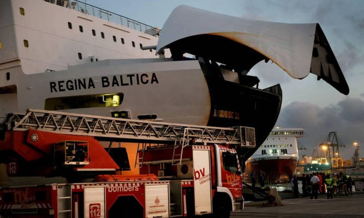 Στιγμές αγωνίας για τους 335 επιβάτες του πλοίου που άρπαξε φωτιά στη Βαλτική