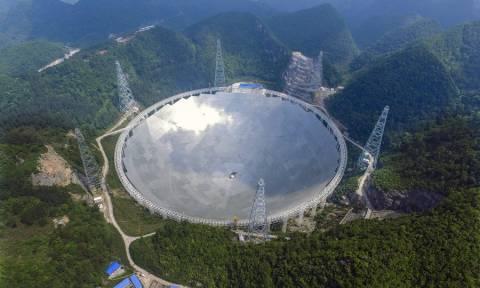 Κίνα: «Μπλόκο» στους τουρίστες στο μεγαλύτερο τηλεσκόπιο στον κόσμο (pics)