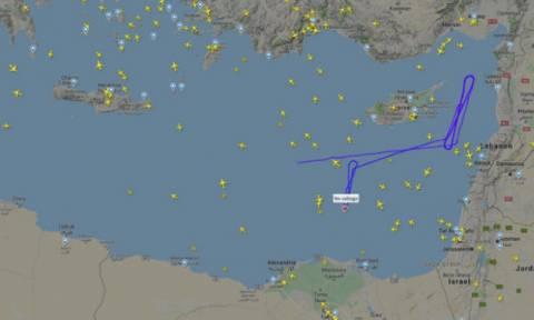 «Μυστήριο» με άγνωστο αεροπλάνο κοντά στο FIR Λευκωσίας