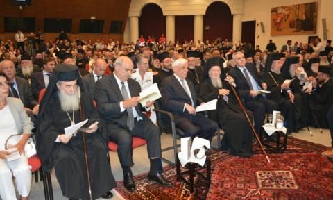 Με Παυλόπουλο και Βαρθολομαίο η εκδήλωση για τα 50χρόνια λειτουργίας της ΟΑΚ (pics&vid)