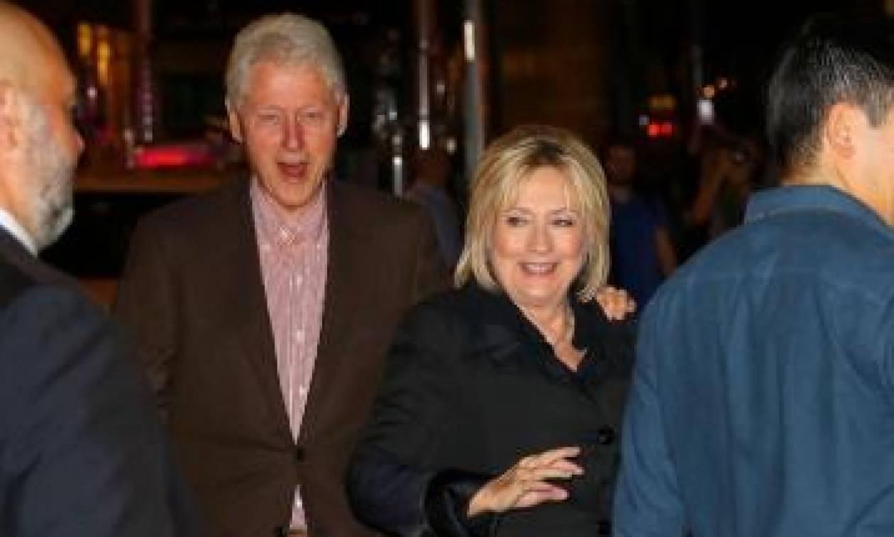Ο Μπιλ και η Χίλαρι Κλίντον πήγαν σε συναυλία της Christina Aguilera!