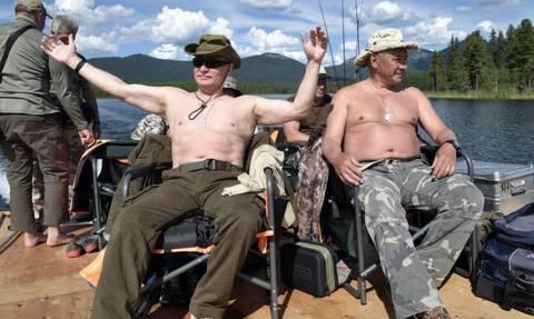 Ξεσήκωσαν σάλο οι κρυφές φωτογραφίες του Πούτιν! Δείτε τις εδώ