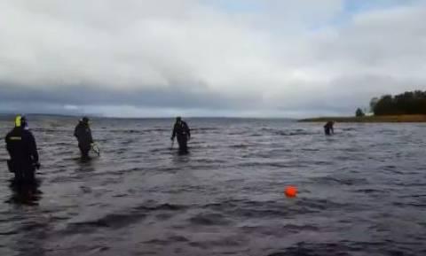 Εξκάλιμπερ αλά... Σουηδικά; 8χρονη βρήκε σπαθί 1.500 ετών σε λίμνη! (vid)