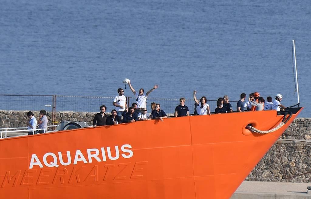Επίθεση ακροδεξιών στα κεντρικά της γραφεία της ΜΚΟ SOS Mediterranee (Vid)