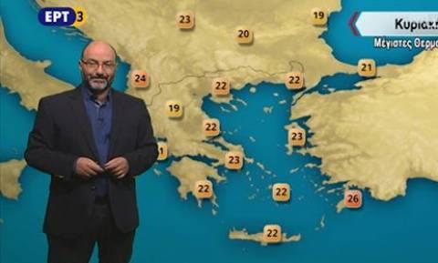Σάκης Αρναούτογλου: Ο Μεσογειακός κυκλώνας άλλαξε τη θερμοκρασία της θάλασσας (photo)