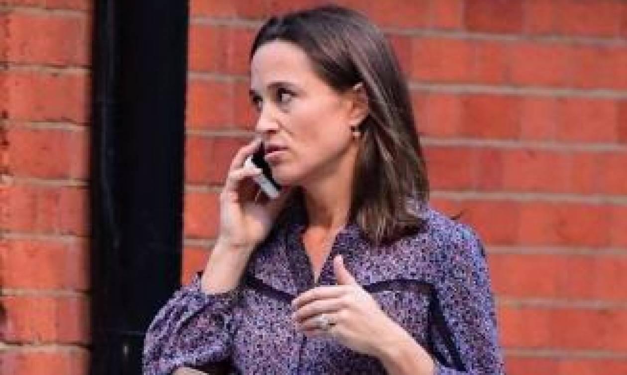 Η έγκυος Pippa Middleton για ψώνια στο Chelsea
