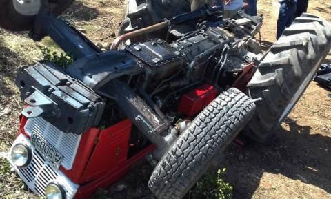 Φρικτό ατύχημα αγρότη στα Τρίκαλα