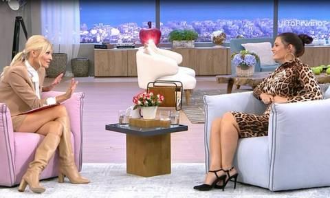 Μαρία Κορινθίου: Απαντά για την «κόντρα» της με την Σίσσυ Χρηστίδου και το μήνυμα που της έστειλε!