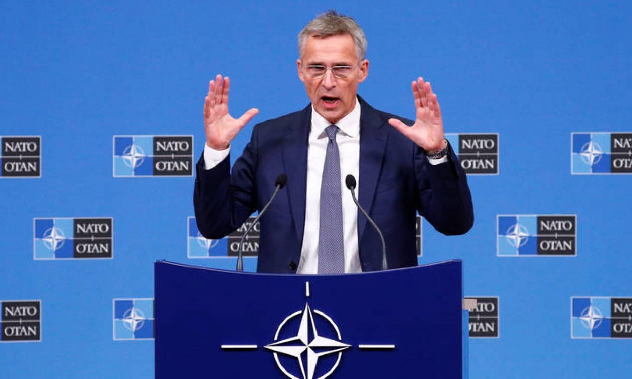 Στόλτενμπεργκ προς Σκόπια: Μονόδρομος η εφαρμογή της Συμφωνίας των Πρεσπών για την ένταξη στο ΝΑΤΟ