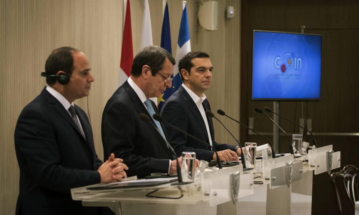 Ο Τσίπρας στην Κρήτη: Τριμερής Σύνοδος Ελλάδας - Κύπρου - Αιγύπτου την Τετάρτη (10/10)