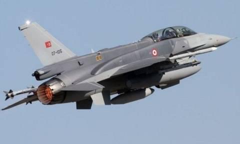 Συναγερμός στην Πολεμική Αεροπορία: Πάνω από την Παναγιά Οινουσσών τουρκικά F16