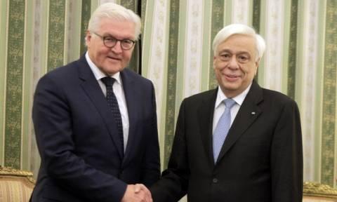 Κοινό άρθρο Παυλόπουλου - Σταϊνμάιερ στη FAZ: «Να διαφυλάξουμε την ενωμένη Ευρώπη»