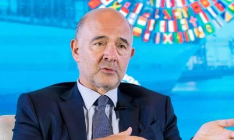Μοσκοβισί: Η Ελλάδα είχε εκτροχιαστεί, να μην κάνει το ίδιο και η Ιταλία