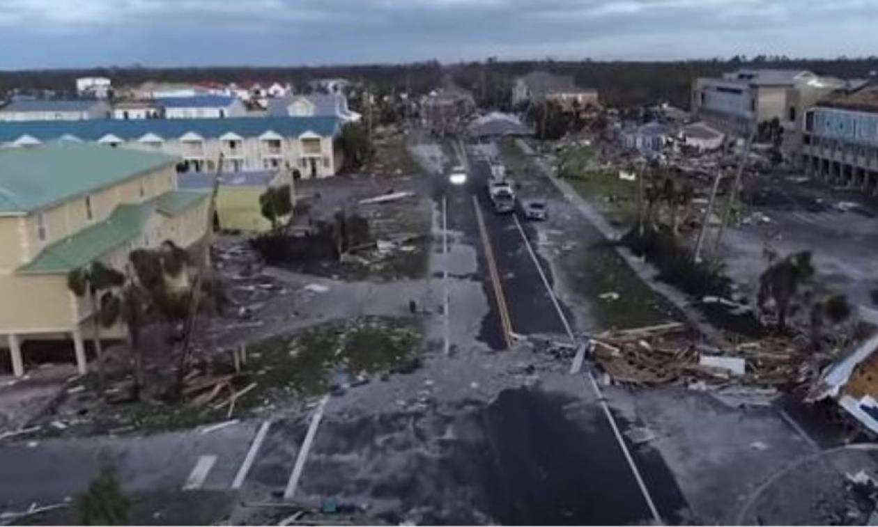 Φλόριντα: Εικόνες Αποκάλυψης και έξι νεκρούς άφησε πίσω του ο ιστορικός τυφώνας «Μάικλ» (vids+pics)