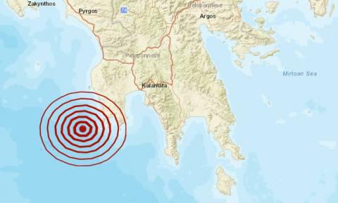 Σεισμός κοντά στη Μεθώνη (pics)